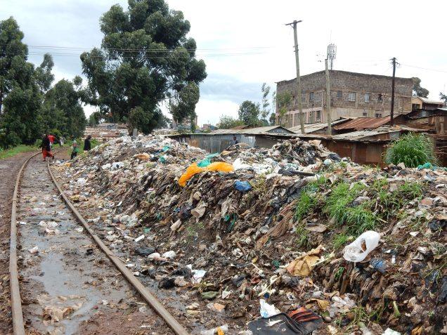 railway dump