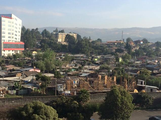 addis view from hotel