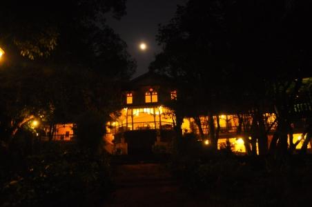 verandah night